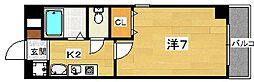 ルセリジェ[2階]の間取り