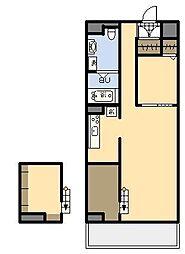 (新築)AKH K[201号室]の間取り