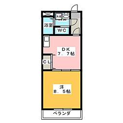 E−STAGE I[5階]の間取り