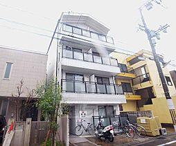 京都府京都市右京区西京極東大丸町の賃貸マンションの外観