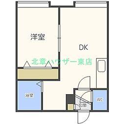 リリー元町[2階]の間取り