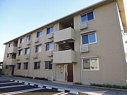 岡山県倉敷市連島中央3丁目の賃貸アパートの外観