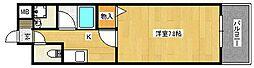 S-FORT住道[4階]の間取り