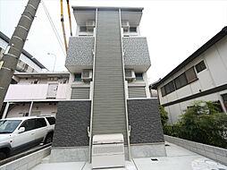 愛知県名古屋市西区八筋町の賃貸アパートの外観