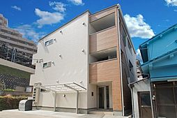 広島県広島市安佐南区上安2丁目の賃貸アパートの外観写真