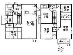 [一戸建] 兵庫県神戸市垂水区塩屋町7丁目 の賃貸【/】の間取り