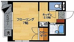 アクセスST[4階]の間取り