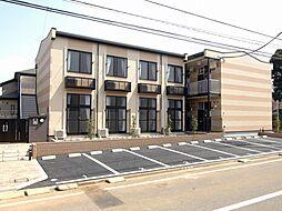 千葉県千葉市花見川区さつきが丘1丁目の賃貸アパートの外観
