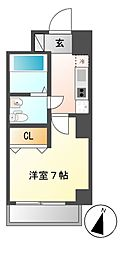 CASA八番館[5階]の間取り