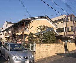 京都府京都市左京区一乗寺北大丸町の賃貸アパートの外観