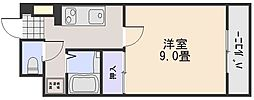 NASコーポ中須[4階]の間取り