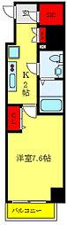 都営三田線 西巣鴨駅 徒歩11分の賃貸マンション 5階1Kの間取り