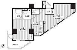 カスタリア初台[9階]の間取り