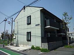 大阪府大阪狭山市狭山4丁目の賃貸アパートの外観