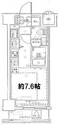 神奈川県横浜市南区高根町4丁目の賃貸マンションの間取り