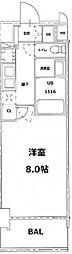 S-RESIDENCE錦糸町パークサイド[5階]の間取り