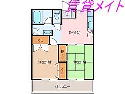 小俣マンション[3階]の間取り