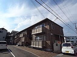 兵庫県姫路市飾磨区今在家7丁目の賃貸アパートの外観