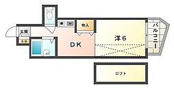 ル・パルム[4階]の間取り