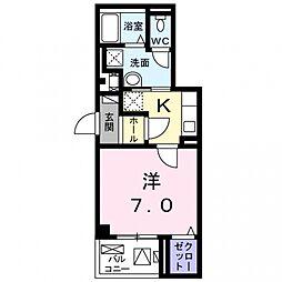 シエル[2階]の間取り