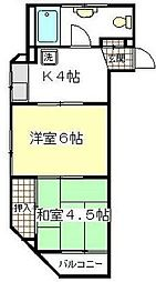 高城ビル[3階]の間取り