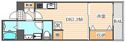 グランフォーレ箱崎ステーションプラザ[9階]の間取り