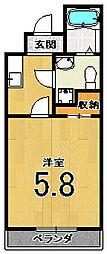 サイト京都西院[4階]の間取り
