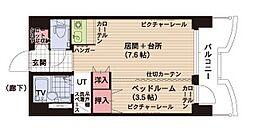札幌ビオス館[10階]の間取り