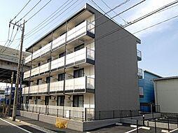 東京都足立区入谷4丁目の賃貸マンションの外観