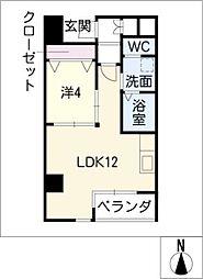 T・SQUARE[7階]の間取り