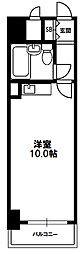 マイルド新大阪レジデンス[8階]の間取り