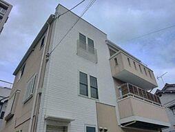 東京都江戸川区平井6丁目の賃貸アパートの外観