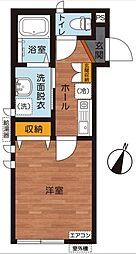 東京都世田谷区太子堂5丁目の賃貸アパートの間取り