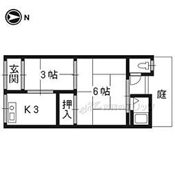 西京極駅 3.5万円