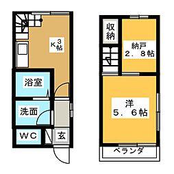 T−style江尻[1階]の間取り