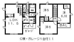 [一戸建] 大阪府八尾市青山町4丁目 の賃貸【/】の間取り