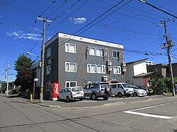 北海道札幌市東区北三十七条東17丁目の賃貸アパートの外観