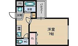 MPLAZA新大阪駅前[11階]の間取り