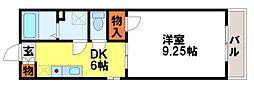 プレミール21[405号室]の間取り