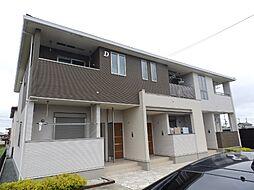 三重県松阪市石津町の賃貸アパートの外観