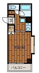 ミキータスタジオ[1階]の間取り