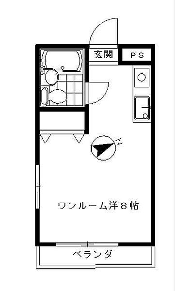 ハイツユタカ 1階の賃貸【東京都 / 目黒区】