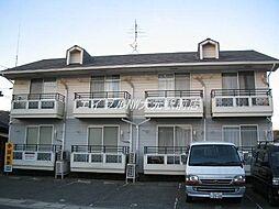 岡山県岡山市北区学南町3丁目の賃貸アパートの外観