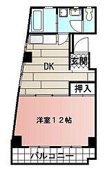 城屋第一ビル[203号室]の間取り