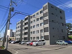 北海道札幌市東区北十四条東15丁目の賃貸マンションの外観