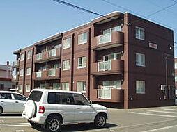 北海道札幌市北区篠路三条2丁目の賃貸マンションの外観