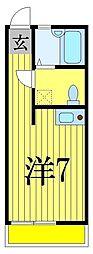 セボセボ津田沼[2階]の間取り