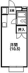 サンアベニュー富塚I[1階]の間取り