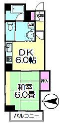 第10竹すしビル[401号室]の間取り