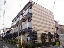 大阪府大阪市住吉区墨江4丁目の賃貸アパートの外観